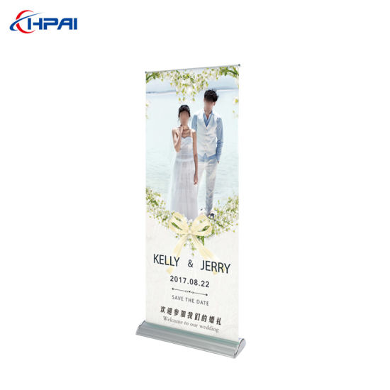 Display Equipment Wide Base Roll up Banner Stand pictures & photos