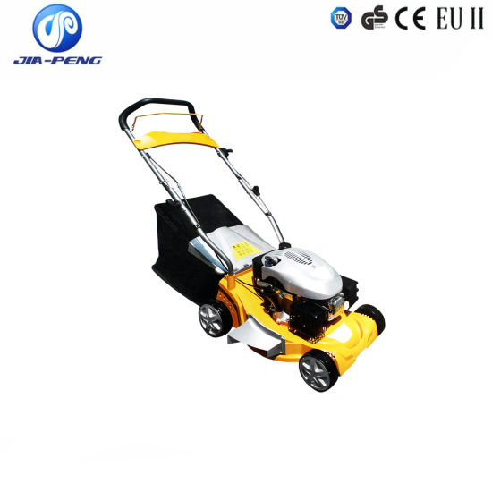 4 In1 Petrol Lawn Mower Grass Cutter with High Quality and Cheap Price pictures & photos