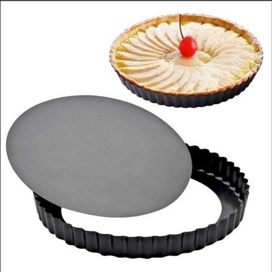 Non-Stick Carbon Steel Bakeware Round Shaped Pizza Pan