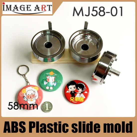 58mm Button Mould with Plastic Slid for Badge Making Machine pictures & photos