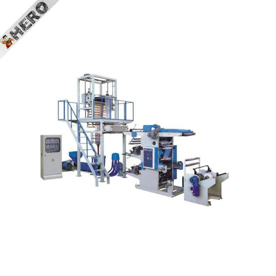 Hero Brand High Speed High Quality Double Winder Rotary Die Blown Film Extruder Machinery in Pakistan