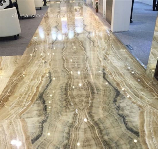 Tara Onyx Marble Slabs & Tiles for Wall/Floor/Flooring/Hotel/Lobby pictures & photos