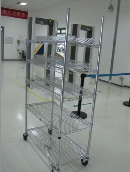 NSF Anti-Static ESD Industrial Metal Cart / Rolling Cart (TR9045180A5C) pictures & photos