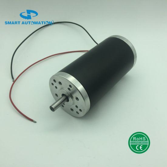 63zyt02A Electric DC Motor Rated 12V 24V 40V 3000rpm 100W