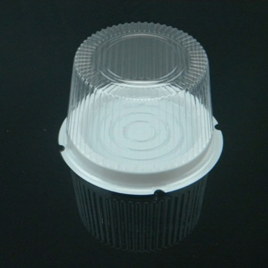 8 Inch Plastic Blister Cake Package Box with Dome Lid