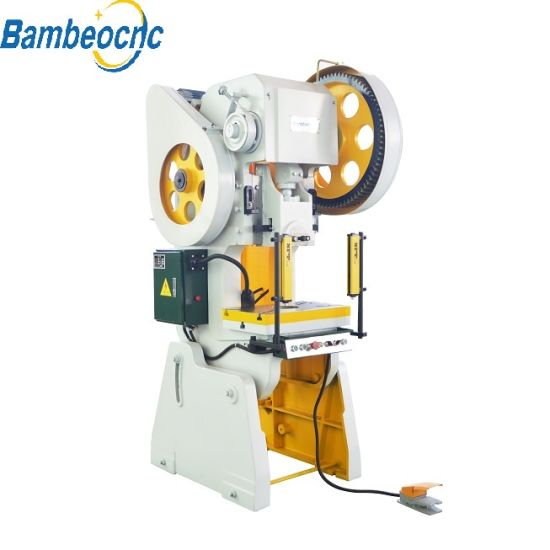 10t Mini CNC Automatic Feeder Power Stamping Hole Punching Press Machine