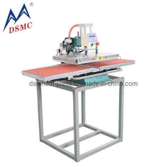 Hot Sale Double Table Pneumatic Clothes Heat Press Machine 40X60