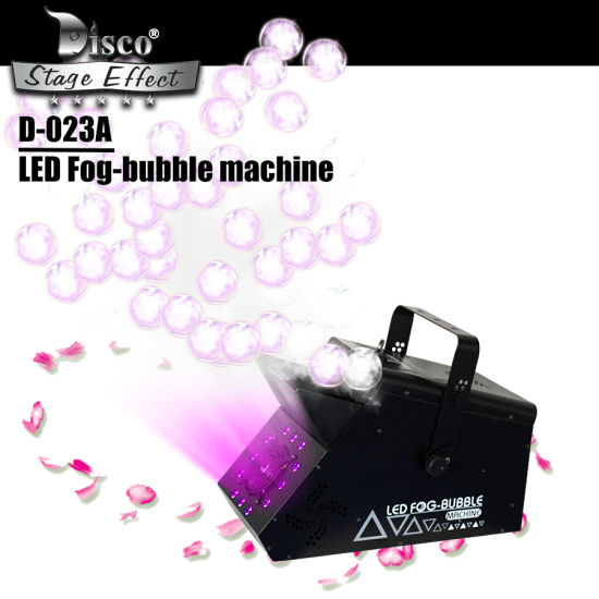 Low Price Romantic LED -Fog Bubble Machine with DMX for Stage