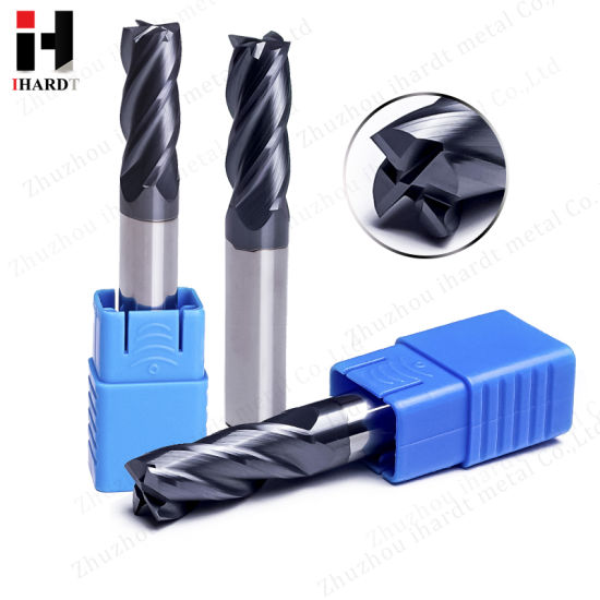 Chinese Supplier Manufacture Carbide End Mill Cutting Tools HRC45