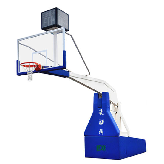 Fiba Professional Basketball Equipment Electric Hydraulic Basketball Stand/Hoop for Sale pictures & photos