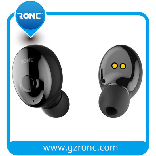 New 5.0 True Wireless Tws Earphone Stereo Mini Sports Bluetooth Headset in-Ear Earbuds pictures & photos