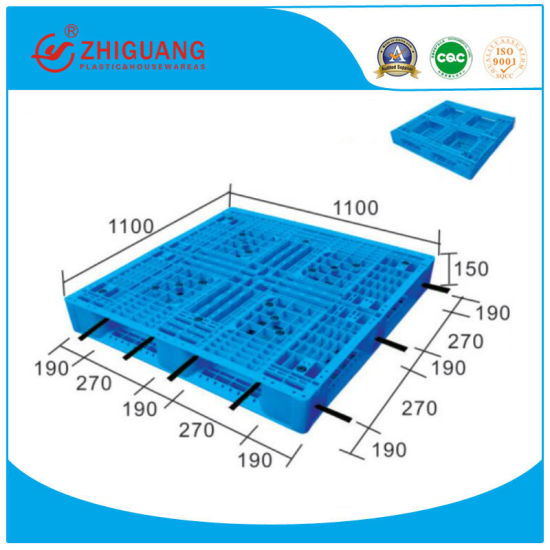 Accept Custom Large Stackable Plastic Pallet, New Tian Word Pallet, Factory Cheap Plastic Euro Pallet