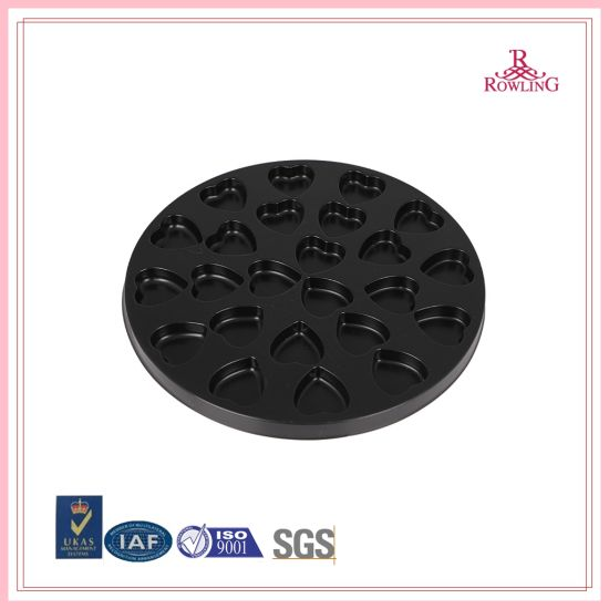 Top Sale Packaging Food Plastic Serving Blister Tray/Brown Disposable Plastic Blister Chocolate Packaging Tray/Disposable Plastic Food Tray for Chocolate pictures & photos