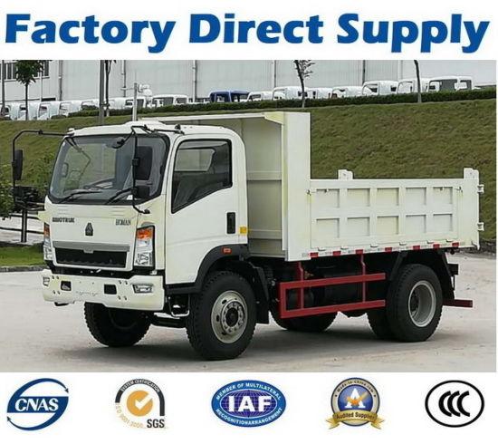 SD00320 Sinotruk Homan HOWO Light Duty 4X2 Tipper /Dumper/Dump Truck130HP - Non Used Mini FAW Isuzu Beiben Foton Pick up Cargo Vehicle Tipper Dump Lorry
