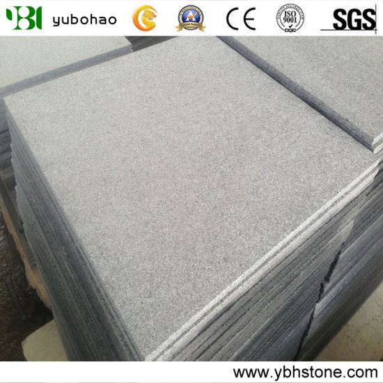 New G654/Flamed Dark Grey Granite Tile for Wall Cladding Stone