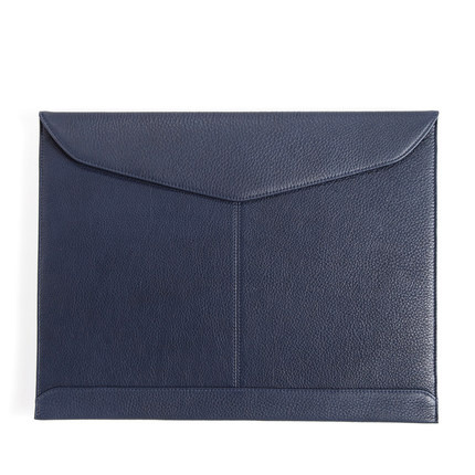 Matt Genuine Leather Envelop File Folder for Office Supply