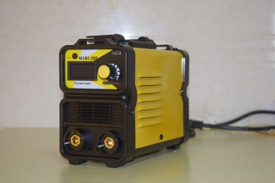 220V/140A, Mini Case, DC Inverter, IGBT Portable MMA Welder Welding Machine-Miniarc140