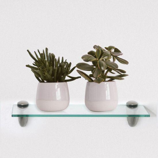 Modern Design Good Quality 8mm Tempered Glass Shelf for Home Decoration