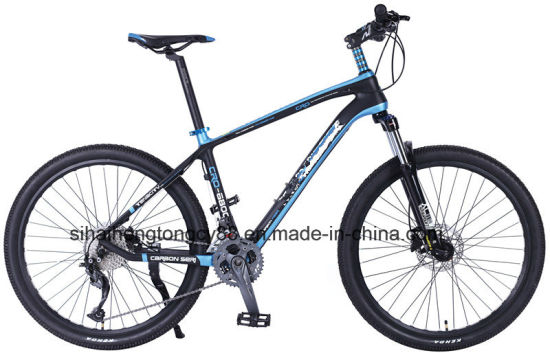 China Mt26zs602 Carbon Fiber Frame Mountain Bike - China Carbon ...