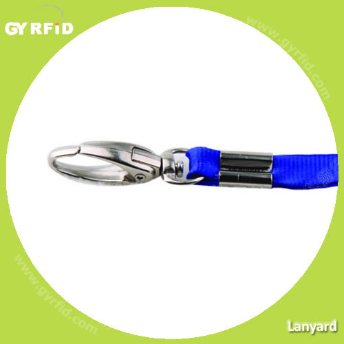 Fabric Lanyards for Event, 1cm Width, Fine Thread (LY1001) pictures & photos