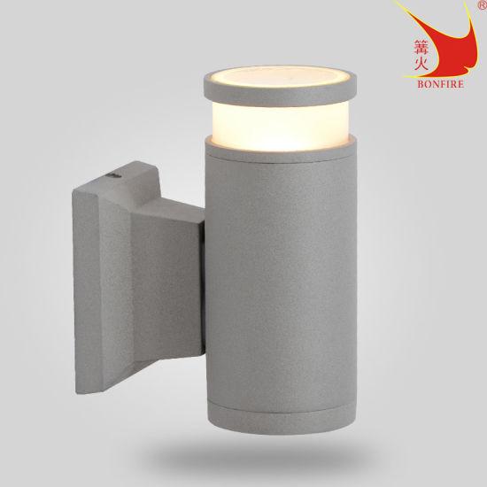 Premium Outdoor Lighting Aluminum Wall Light 6 Colors for Choose