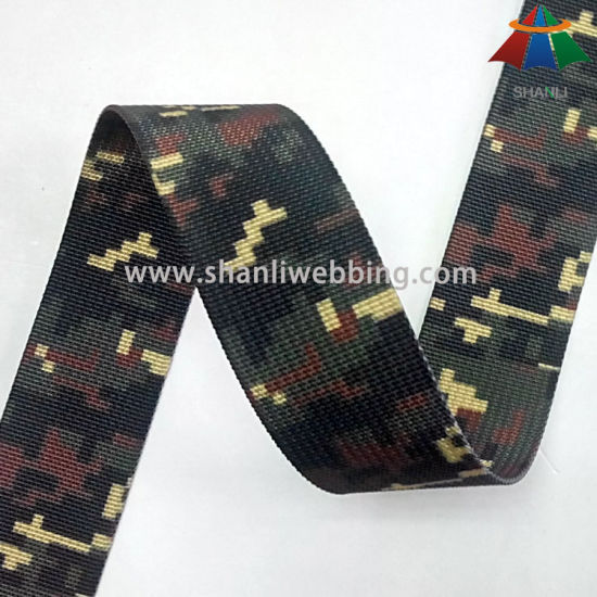35mm Far Infrared Ray Polyester Camo Webbing for Army Bags
