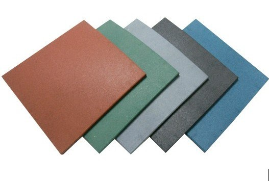 Wearing-Resistant Outdoor Colorful Rubber Floor Tile pictures & photos
