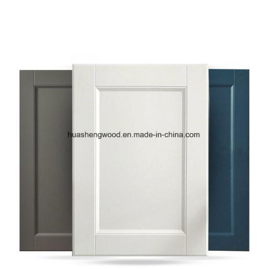 Simple Morden PVC Thermoforming MDF Cabinet Door