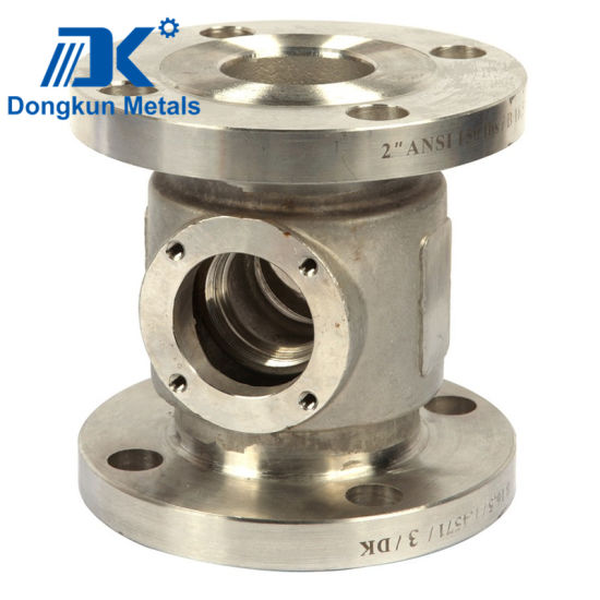 Stainless Steel Flange with Lost Wax Casting