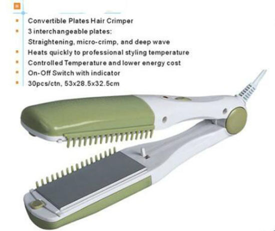 New Design Ceramic Hair Crimper pictures & photos