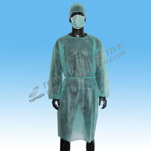 Disposable Nonwoven Operating Gown or Surgical Gown pictures & photos