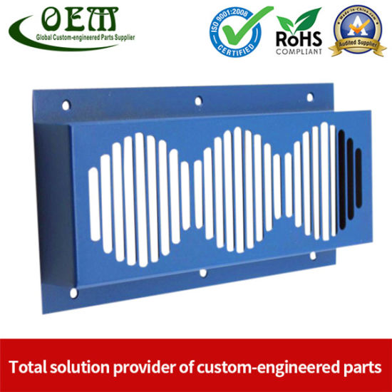 Powder Coated Metal Stamping Parts-Panel Cover