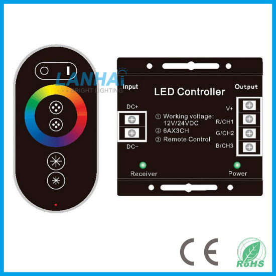 china rf touch remote control led strip lights rgb controller