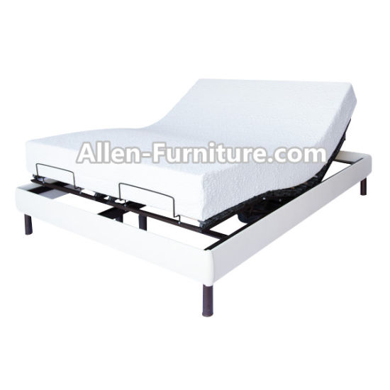 China Factory Directly Bifold Electric Adjustable Metal Bed Frame