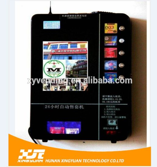 Hot Sale Wall Mounted Vending Machine with Bill Acceptor