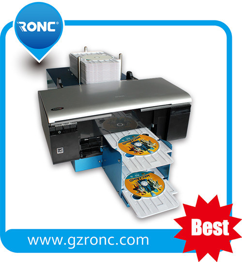Multi-Functional CD Printer for Printing DVD Cover Machine pictures & photos