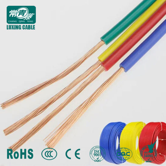 China Flexible Electrical Cable PVC Insulated Wire - China PVC ...