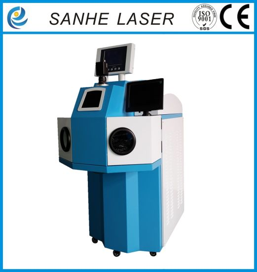 Jewelry Laser Spot Welding Machine Weld Rings and Golf pictures & photos