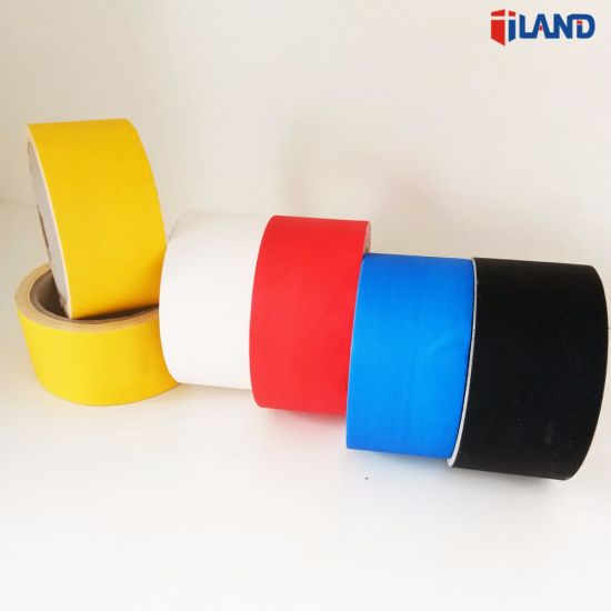 Colorful High Quality Design Rubber Adhesive and Cotton Gauze Cloth Material Gaffers Tape