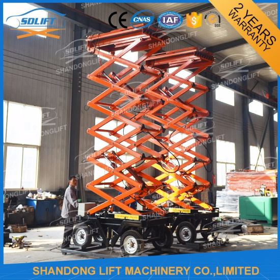 Hydraulic Elevated Work Platform with 14m pictures & photos