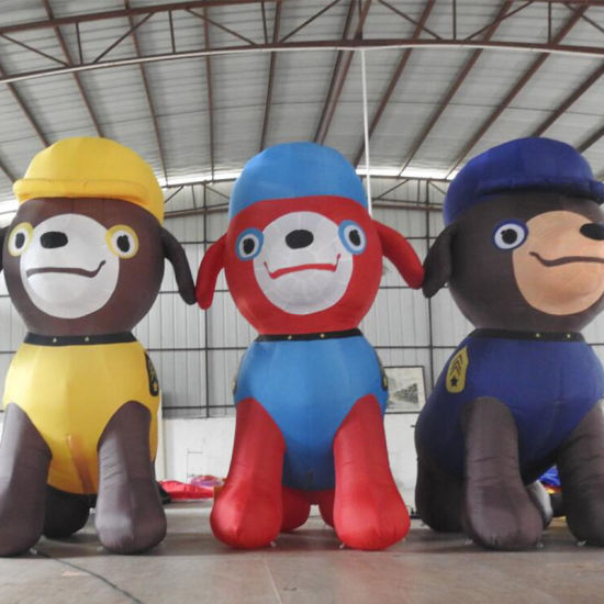 Inflatable Cartoon Dog for Advertising (CT-122) pictures & photos