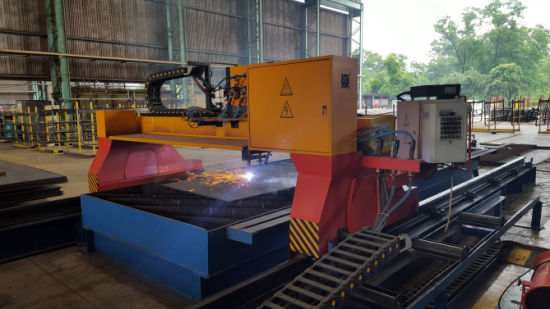 Gantry Type CNC Plasma & Flame Bevel Cutting Machine pictures & photos