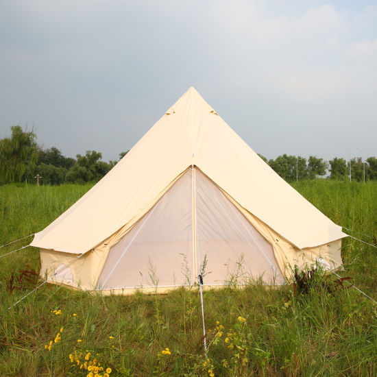Luxury Gl&ing UK Canvas Bell Tent for Sale & China Luxury Glamping UK Canvas Bell Tent for Sale - China Canvas ...