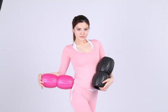 Patent Peanut Hollow Foam Roller for Yoga Pilate pictures & photos