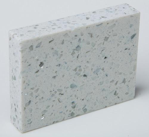 Sparkle White Quartz Countertops