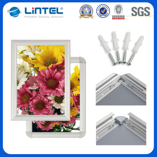 China Cheap Photo Frame Aluminum Hanging Click Frame A1a2a3a4