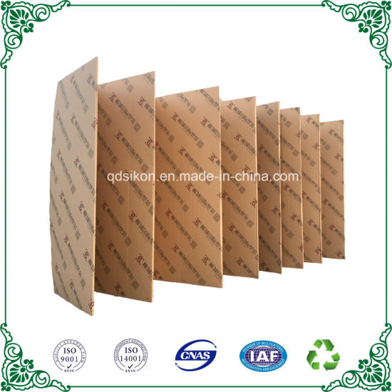 China Strong Durable Craft Kraft Corrugated Fanfold Paperboard