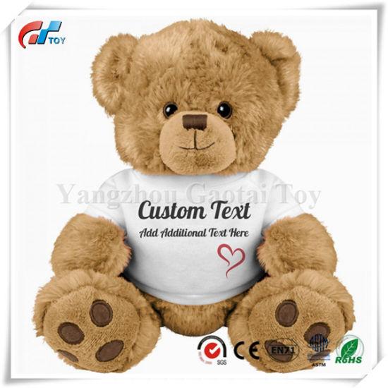 Cute and Custom Design Medium Teddy Bear Stuffed Animal Toys