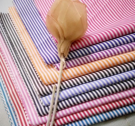 Textile Garment Polyester Cotton T/C Stripes Plain Blouses Shirt Yarn Dyed Fabric pictures & photos
