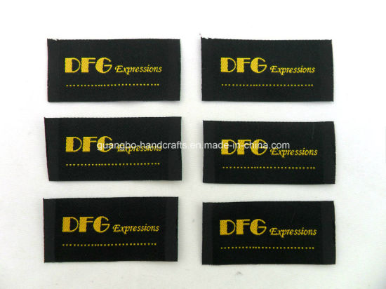 Soft &Delicate Woven Clothing Label (CY-01)